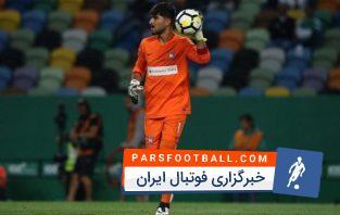 سرتوپ خطرناک عابدزاده در بازی مقابل براگا