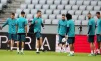تمرین رئال مادرید در مونیخ