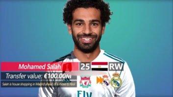 انتقال محمد صلاح به رئال مادرید