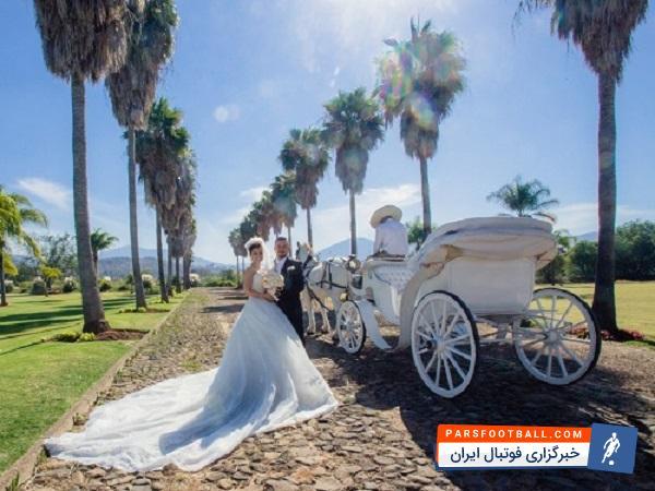 ماشین عروس منحصر به فرد که از ترکیب الاغ و موتور ساخته شده است