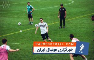 تمرینات تیم ملی آلمان برای حضور در جام جهانی
