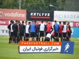 تصاویری از تمرین تیم ملی ایران در ترکیه