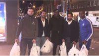کمک کردن مرحوم ساموئل به بیخانمانها
