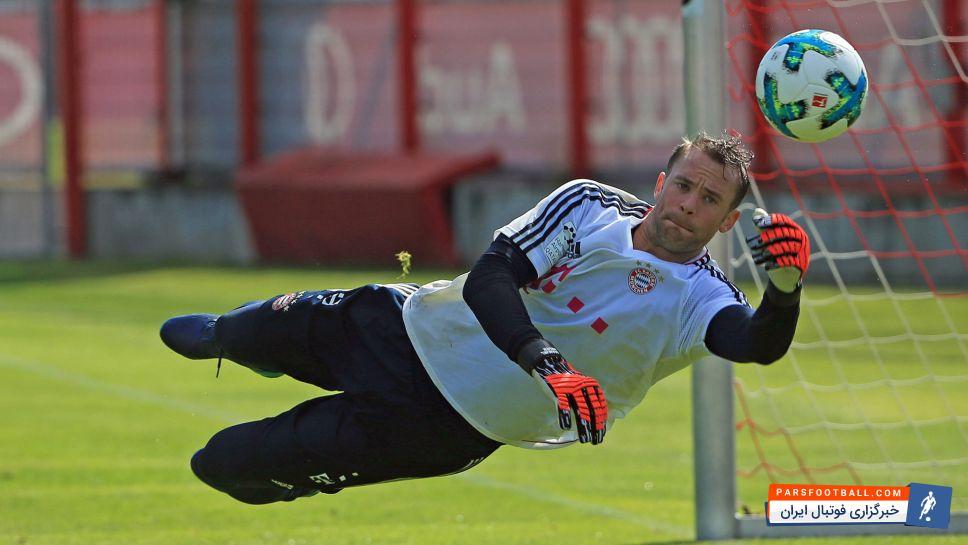 آیا مانوئل نویر دروازه بان بایرن مونیخ و تیم ملی آلمان به جام جهانی می رسد؟