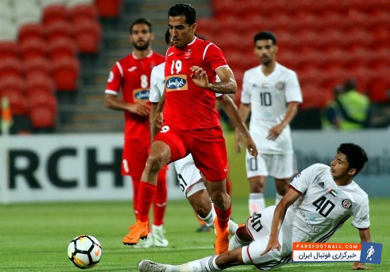 وحید امیری قرارداد خود را بعد از جام جهانی 2018 روسیه تمدید می کند!