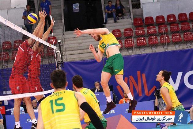 کلیپی از خلاصه دیدار تیم ملی والیبال ایران و استرالیا در بازی های جام ملت های والیبال 5 خرداد 97