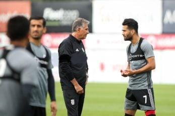 کی روش و مسعود شجاعی در تمرینات تیم ملی از هر فرصتی برای مرور برنامه های تیم ملی استفاده می کنند تیم ملی در حالی خود را برای حضور در جام جهانی روسیه آماده می کند که کی روش همانند ۴ سال قبل روی مسعود شجاعی حساب ویژه ای باز کرده است.