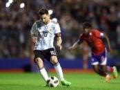 مسی با هتریک برابر تیم هائیتی شمار گل های ملی اش را به عدد 64 رساند