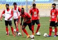 تمرین تیم فوتبال پرسپولیس برای دیدار مرحله یک چهارم نهایی لیگ قهرمان آسیا الجزیره امارات امروز (چهارشنبه) از ساعت 11 در ورزشگاه شهید کاظمی برگزار شد.