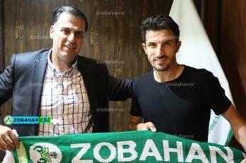 حدادی فر کاپیتان محبوب باشگاه ذوب آهن اصفهان قراردادش را با این تیم تمدید کرد