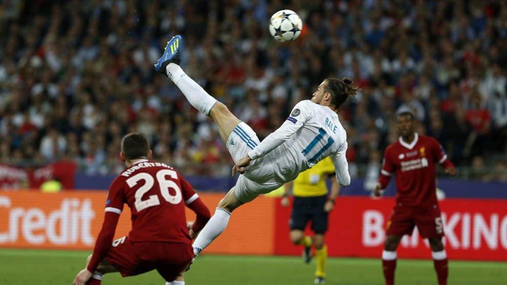 فوتبال ؛ 10 برگردان فوق العاده از ستاره های مطرح فوتبال مانند گرت بیل ، رونالدو و ...