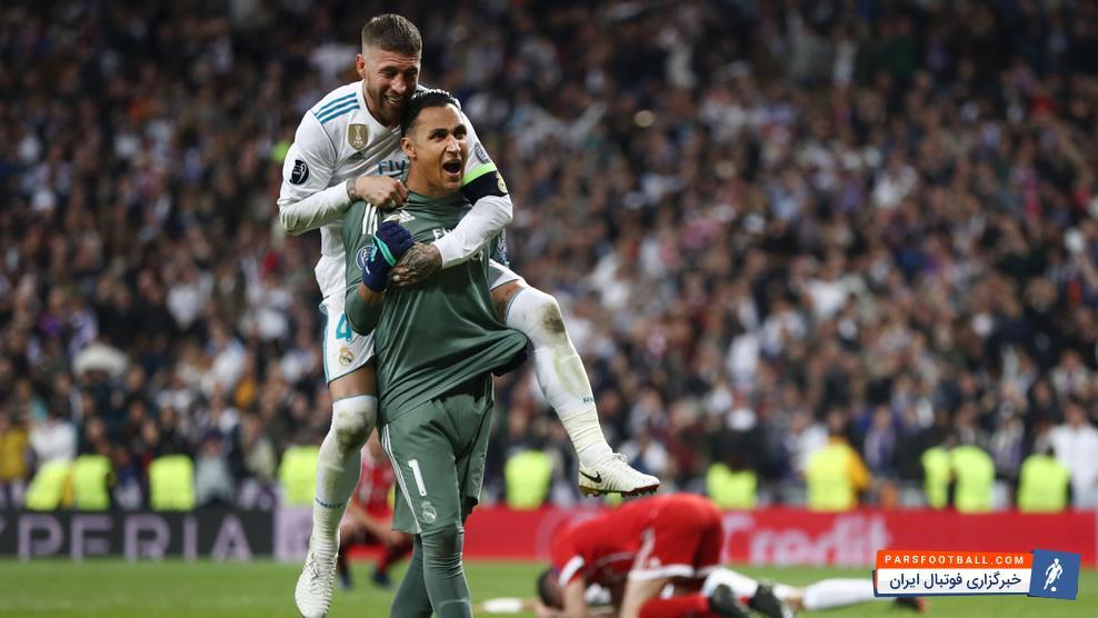 ناواس ؛ با کمک ناواس و بنزما رئال مادرید به سیزدهمین قهرمانی اروپا نزدیکتر شد