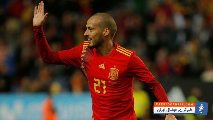 سیلوا ستاره منچسترسیتی پنالتی زن اول تیم ملی اسپانیا در جام جهانی خواهد بود
