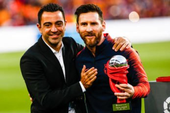 مسی ؛ انتخاب مسی به عنوان برترین بازیکن لالیگا در فصل 2017/2018 از نگاه هواسکورد