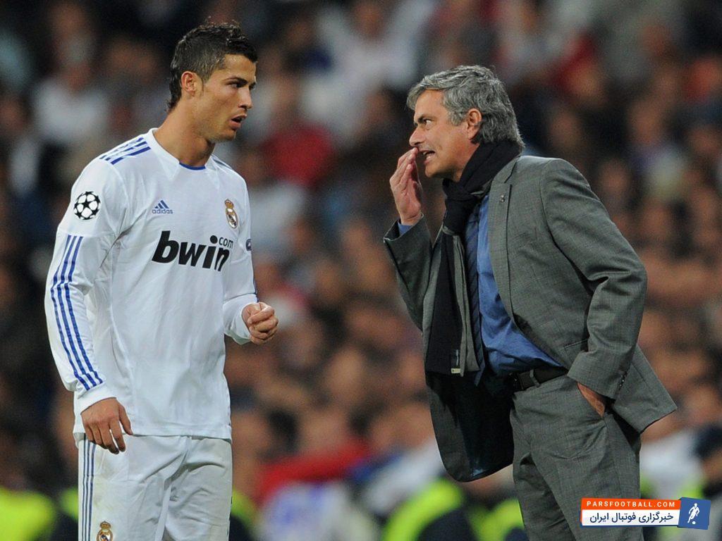 ژوزه مورینیو سرمربی منچستریونایتد: درهای خروج از رئال مادرید به روی رونالدو بسته است