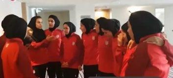 همراه با بانوان فوتسالیست ایران در اردوی تیم ملی