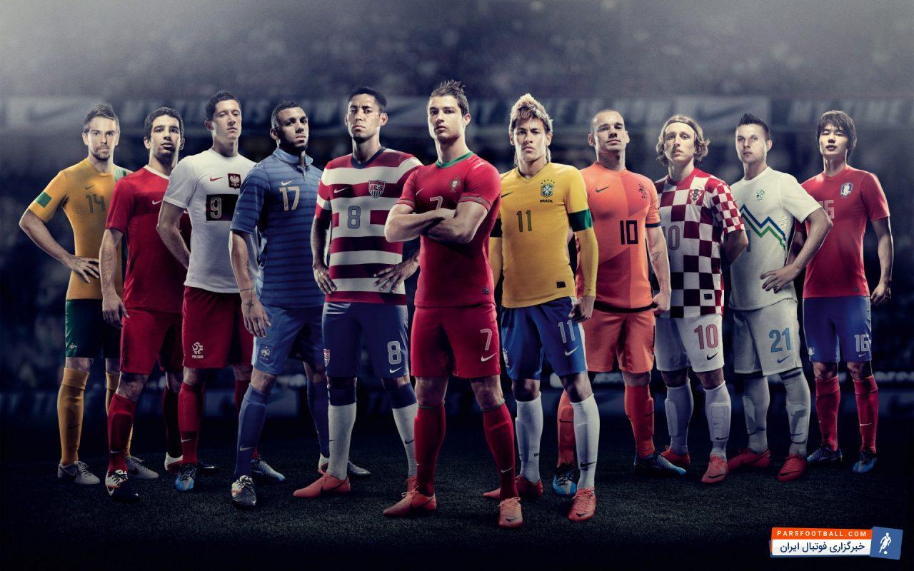 فوتبال ؛ تصویر جالب از دوران جوانی ستاره های فوتبال مانند اوزیل ، راموس و فردیناند