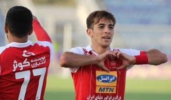 احمدزاده در جریان بازی شب گذشته پرسپولیس مقابل الجزیره امارات دچار مصدومیت شد