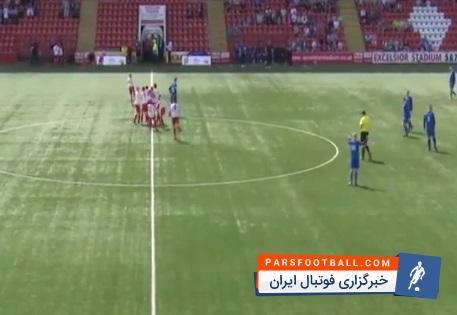 گل از راه دور و بسیار عالی در لیگ نوجوانان انگلستان ؛ خبرگزاری فوتبال ایران