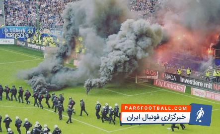 کلیپی از سقوط تیم فوتبال هامبورگ به بودنسلیگای 2 در برنامه فوتبال 120