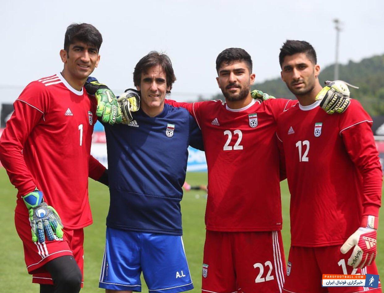علیرضا بیرانوند ؛ امید اول دروازه تیم ملی در جام جهانی ، علیرضا بیرانوند ؛ پارس فوتبال