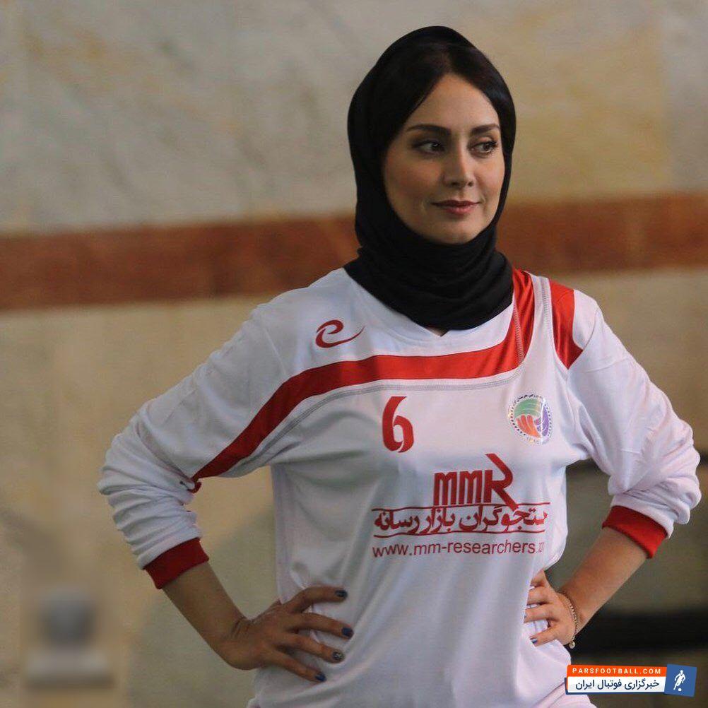 مریم خدارحمی ؛ تصویری از مریم خدارحمی هنرپیشه معروف با لباس ورزشی