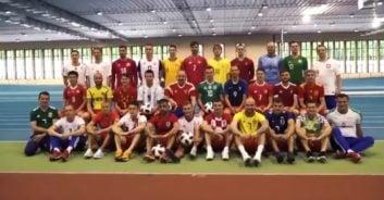 رونمایی از پیراهن تیم های حاضر در جام جهانی در روسیه