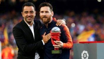 مسی بهترین بازیکن ماه آوریل لالیگا