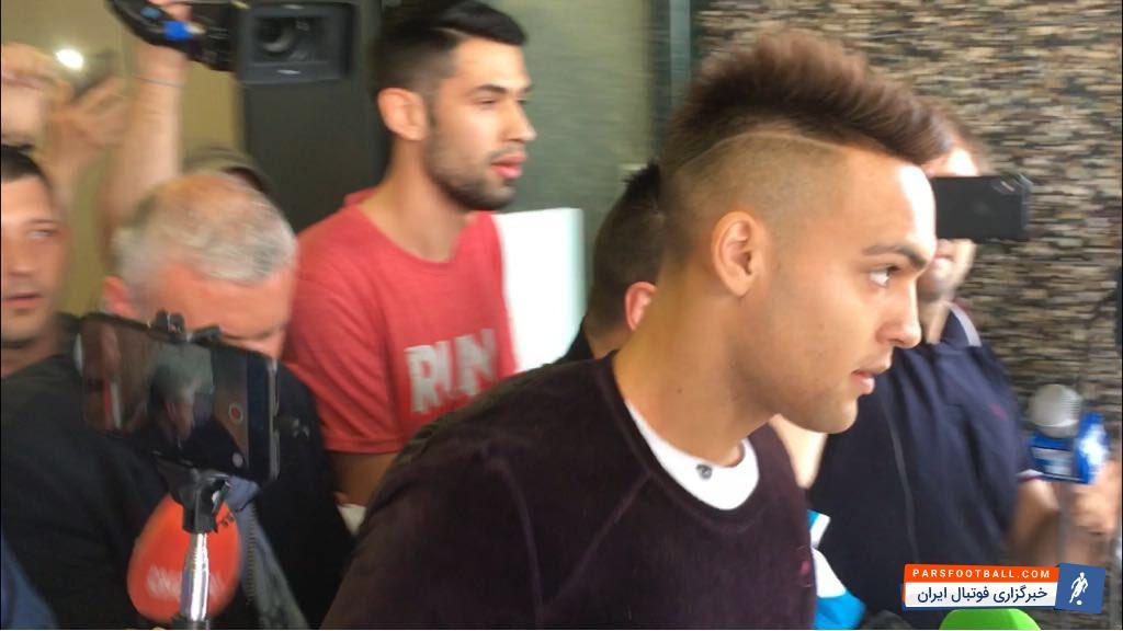 مهاجم آرژانتینی در میلانو برای امضا قرارداد با آبی و مشکی پوشان (عکس)