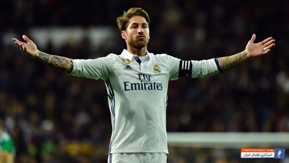 راموس ؛ تصویری از انگشتر خاس سرخیو راموس کاپیتان رئال مادرید در جشن قهرمانی