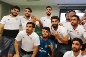 خوشحالی بازیکنان تیم ملی پس از قهرمانی رئال مادرید در لیگ قهرمانان اروپا