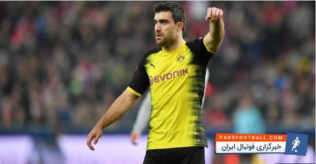 سوکراتیس کاپیتان تیم فوتبال دورتموند آلمان مورد توجه باشگاه آرسنال قرار دارد