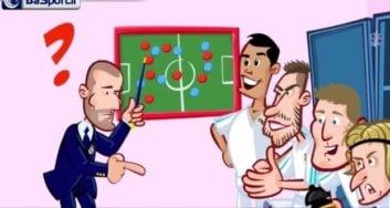 انیمیشن طنز بازی رئال مادرید و لیورپول !