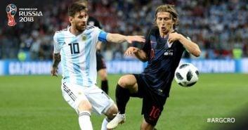 آرژانتین ؛ فیلم ؛ اشک های هواداران تیم فوتبال آرژانتین بعد از تحقیر برابر کرواسی