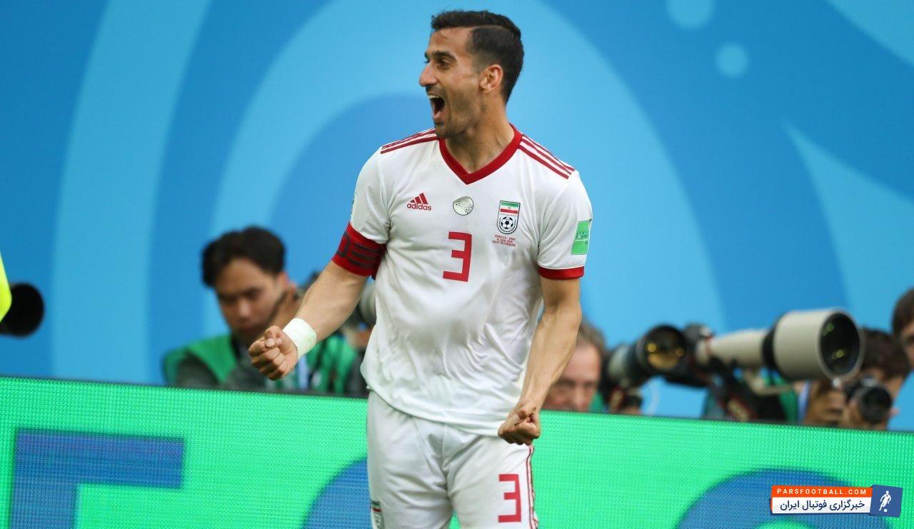 احسان حاج صفی ؛ عکس ؛ احسان حاج صفی در تمرینات تیم ملی حاضر شد