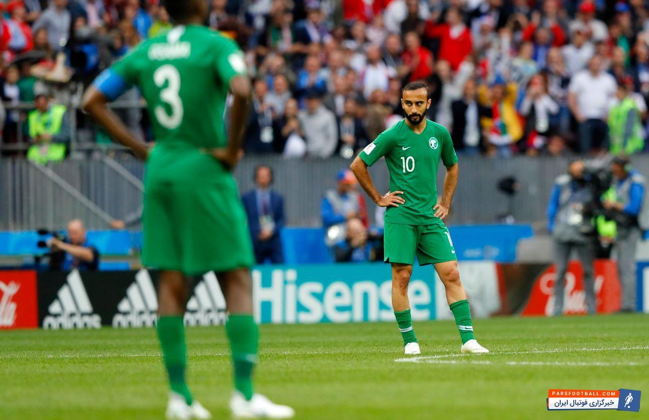 تیم ملی عربستان ؛ واکنش اینستاگرامی AFC به شکست سنگین تیم ملی عربستان برابر روسیه
