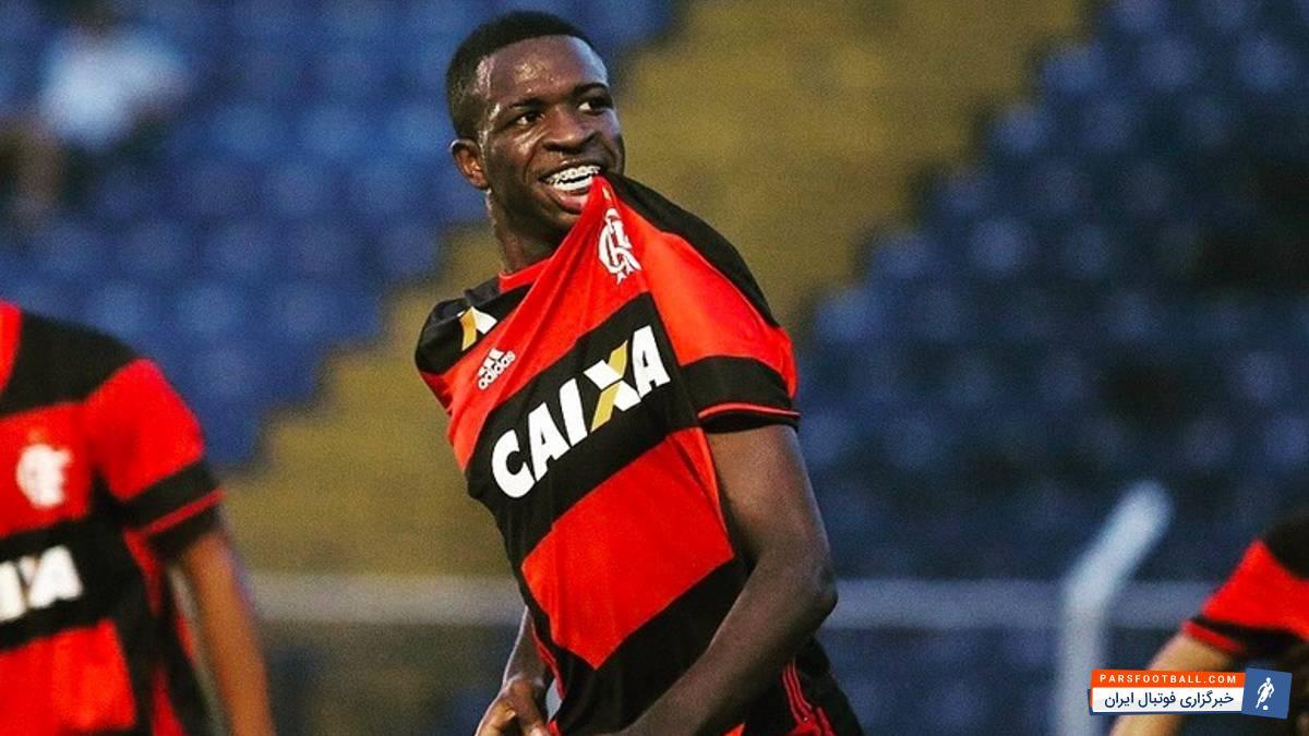 وینیسیوس : خداحافظی می کنم و به مادرید می روم تا رویاهایم را با بازی در این تیم بسازم