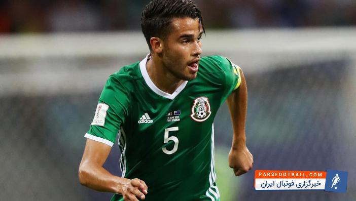 ریس مدافع تیم ملی مکزیک به دلیل مصدومیت از فهرست این تیم خط خورد