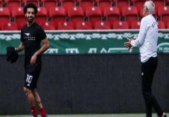 تمرینات انفرادی محمد صلاح برای جام جهانی