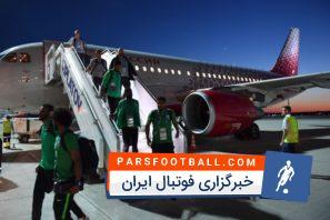 حادثه برای هواپیمای تیم ملی عربستان