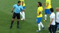 عملکرد علیرضا فغانی در بازی صربستان - برزیل