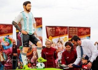 فیلم جشن تولد مسی در شهر برونیتسی روسیه