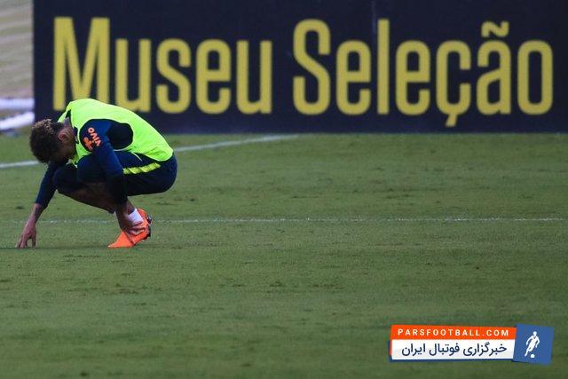 برزیل ؛ نیمار ستاره تیم ملی برزیل مصدوم شد و به بازی برابر کاستاریکا نمی رسد