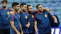 هیرو سرمربی اسپانیا دچار تردید در انتخاب ناچو یا کارواخال در دیدار برابر ایران شده است