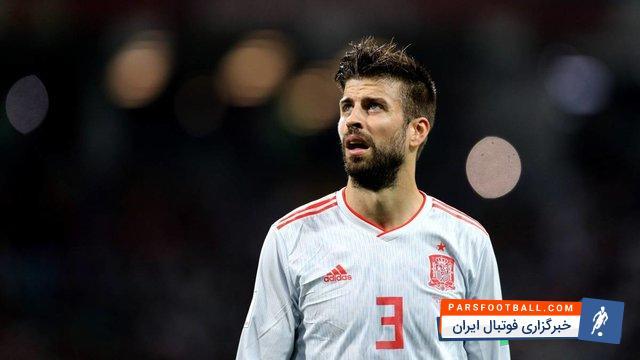 پیکه در صورت بازی برابر ایران به صدمین بازی ملی اش برای اسپانیا دست خواهد یافت