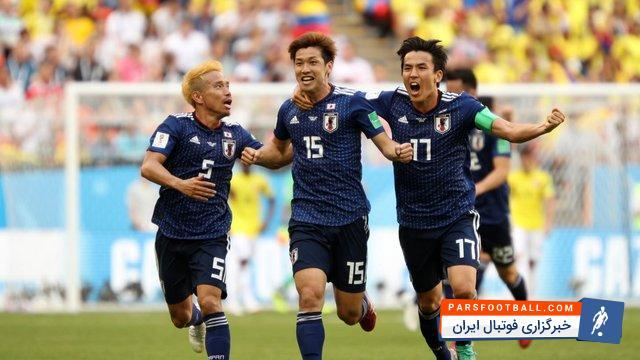 ژاپن اولین تیم آسیایی برنده دیدار برابر تیم های آمریکای جنوبی در جام جهانی