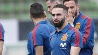 اسپانیا ؛ کارواخال به حمایت از هیه رو سرمربی موقت تیم فوتبال اسپانیا پرداخت