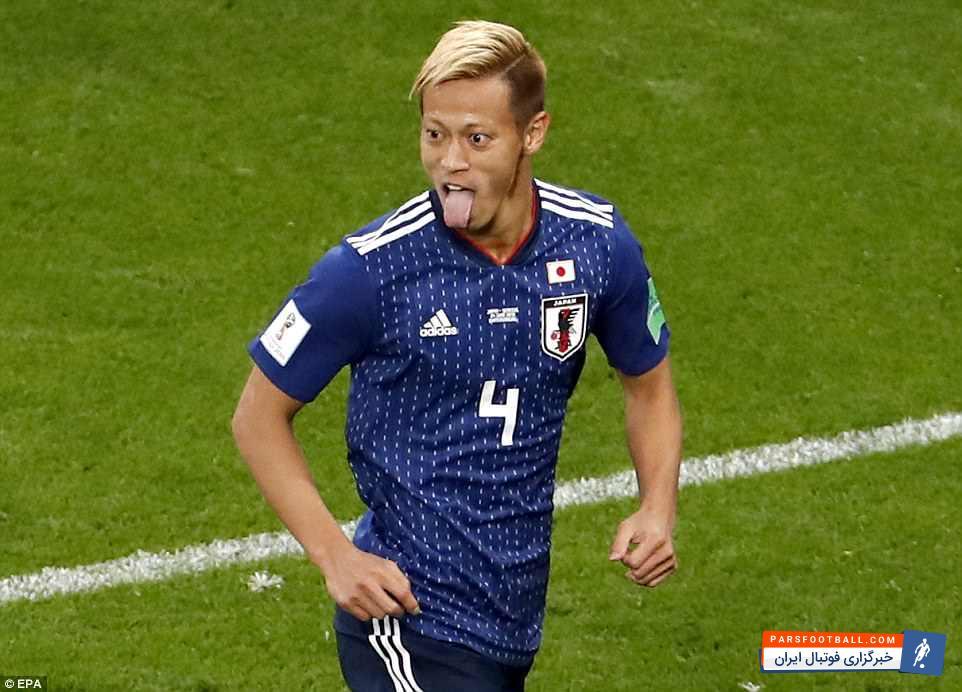 کیسوکه هوندا ؛ عکس ؛ کیسوکه هوندا بهترین گلزن آسیا در جام جهانی شد!