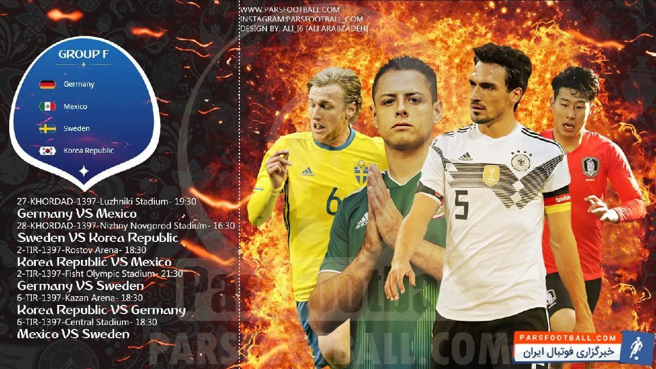 گروه f جام جهانی روسیه