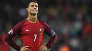 رونالدو ؛ فیلم ؛ گل فوق العاده از کریس رونالدو در تمرینات تیم پرتغال قبل از دیدار برابر اروگوئه
